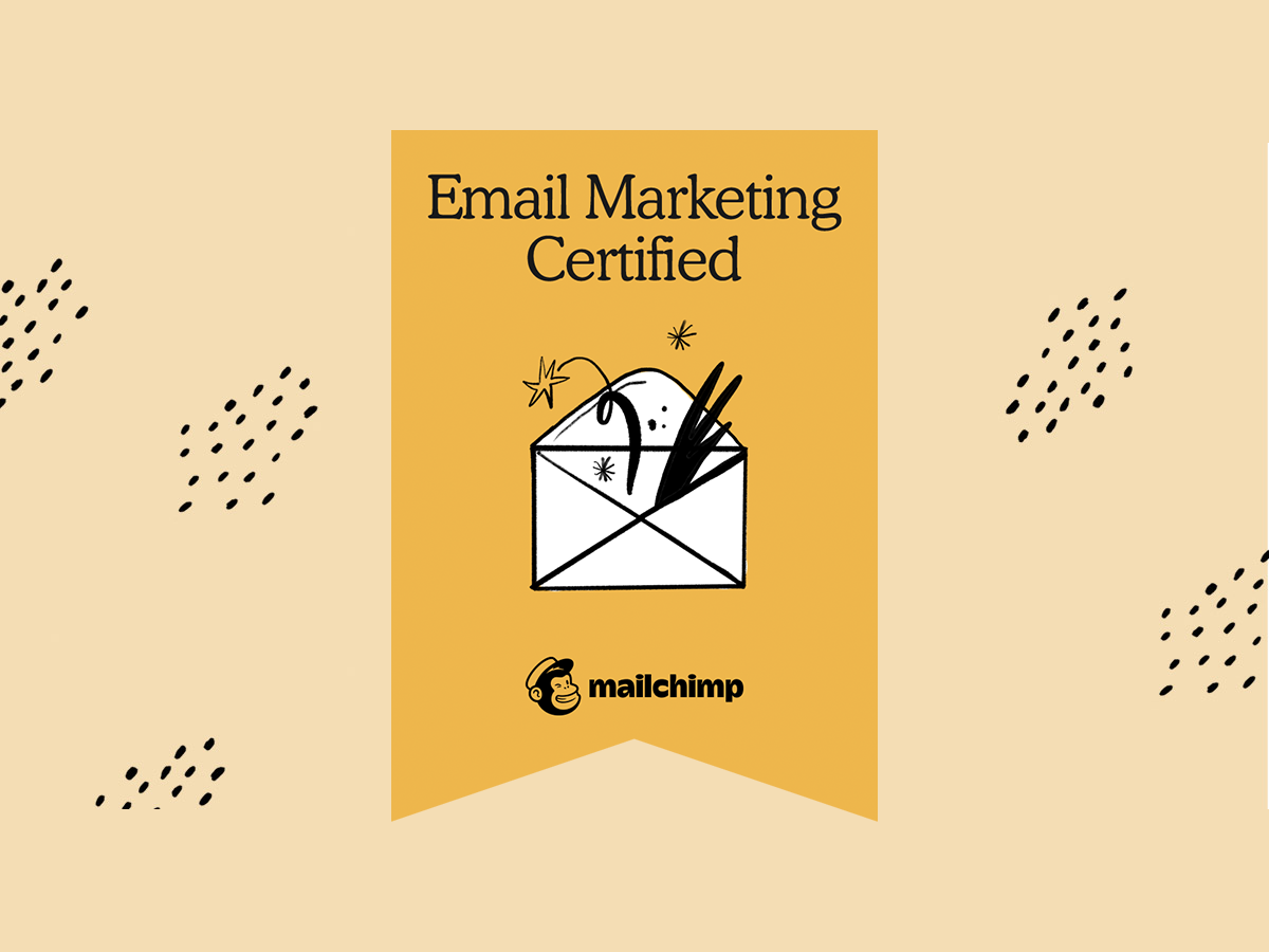 We are Mailchimp Certified